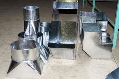 Прямоугольные воздуховоды и фасонные изделия