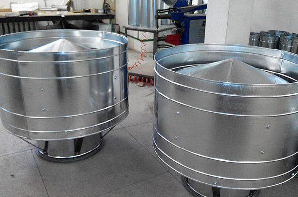 производство дефлектора вентиляционного