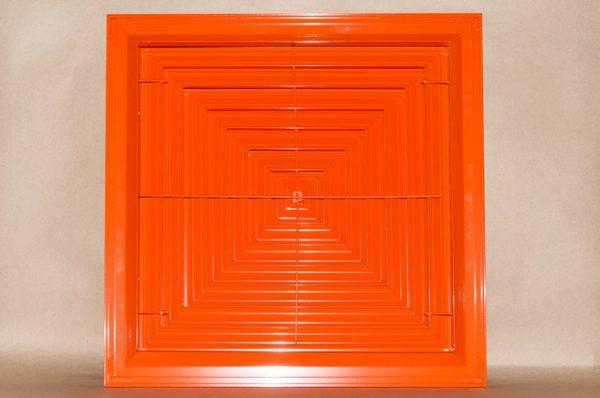 квадратный потолочный диффузор