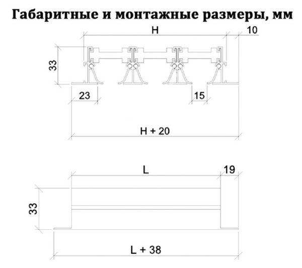 вентиляционная щелевая решетка