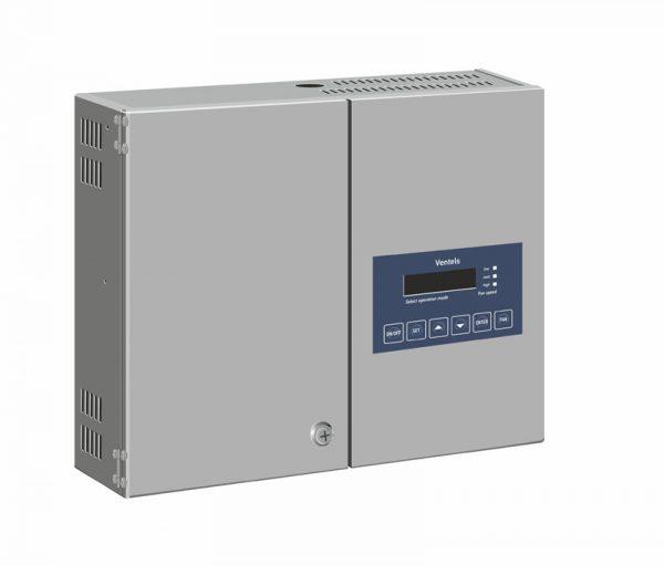 Щит управления вентиляции с водяным калорифером и ККБ более 3500 м3/ч - Water Box SW-X/3-3.0-DC