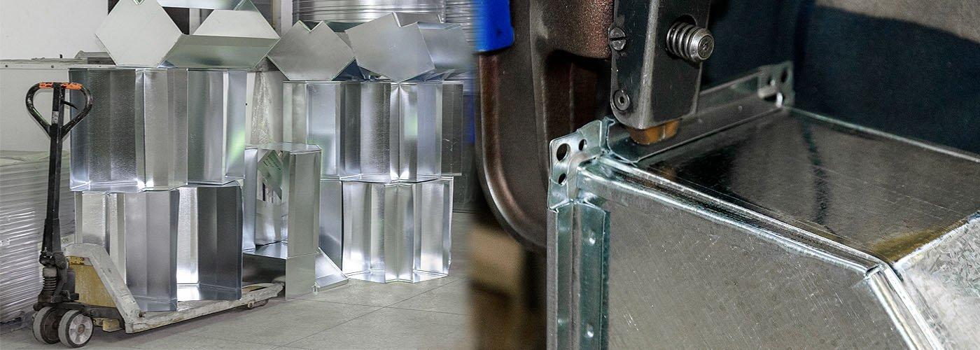 Производство воздуховодов из оцинкованной и нержавеющей стали