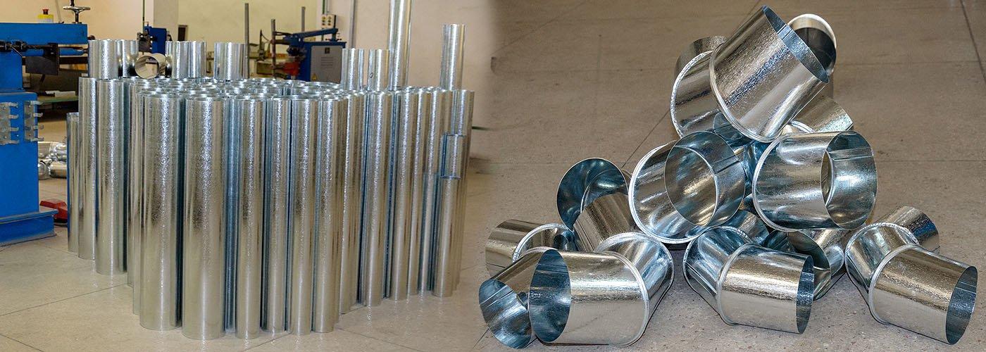 Вентиляционные заготовки и фасонные изделия